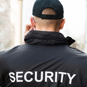 Security Guard on Radio